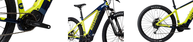 Dettagli bici elettrica Rossignol