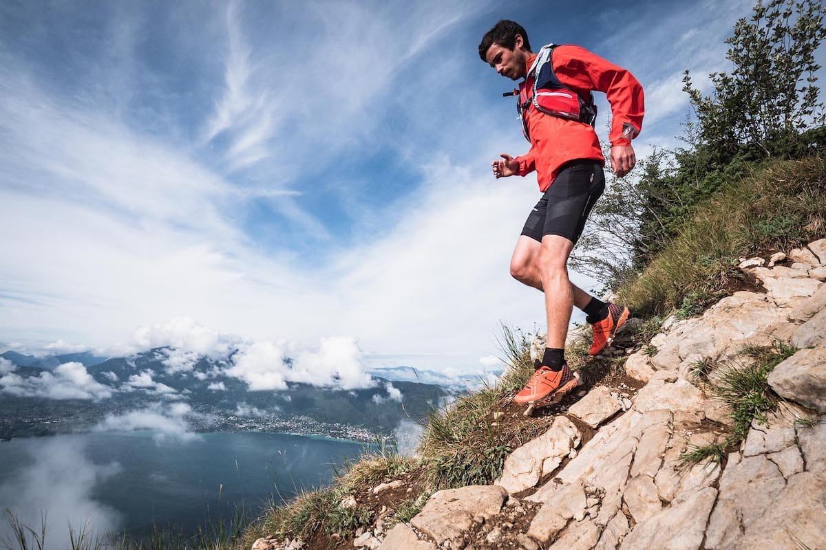 Trail running in estate